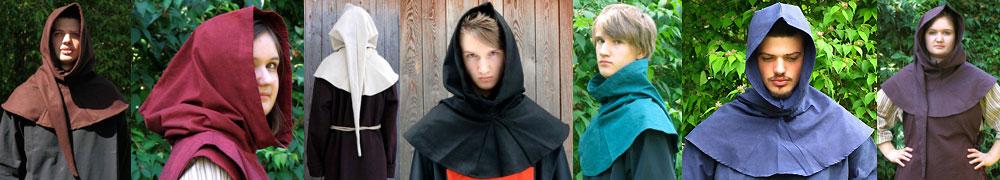 Mittelalter Kopfbedeckungen