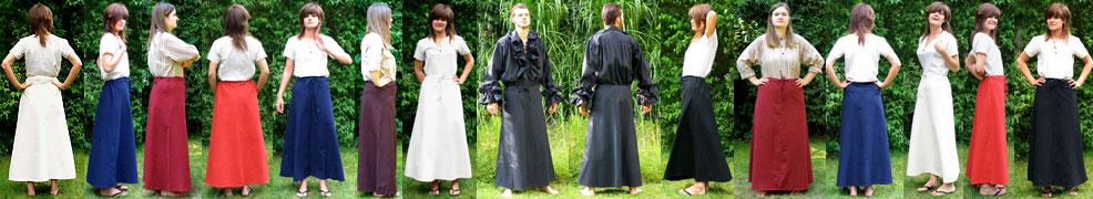 Mittelalter Röcke