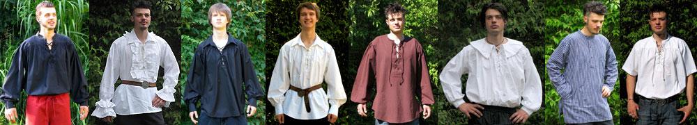 Mittelalter Hemden