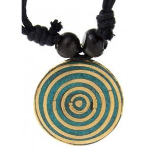 Halskette Sinthgunt mit Kreis Anhänger