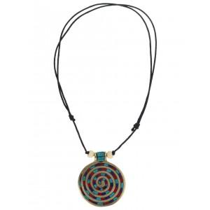 Halskette Sunna mit Spirale (6 cm)